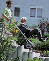 AAT's stairclimbing wheelchair