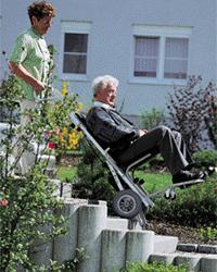 AAT's stairclimbing wheelchair