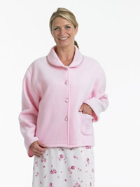 Image of lightweight bed jacket
