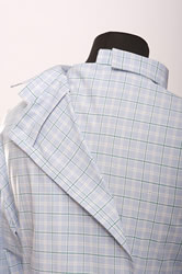 Image of open back shirt