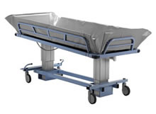 Image of Benmor bariatric shower trolley