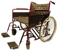 Image of Benmor bariatric folding wheelchair