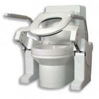 Image of Closomat heavy-duty toilet lifter