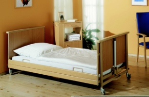 low level hospital bed