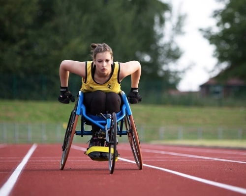 Carly Tait, Paralympic athlete