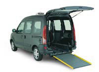 kangoo chaircab wheelchair accessible vehicle
