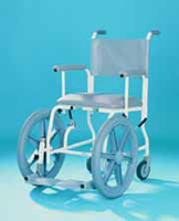 assisted shower chair