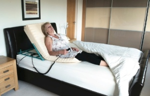 portable system for adjustable bed