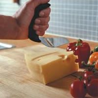 image of special ergonomic cutting knife