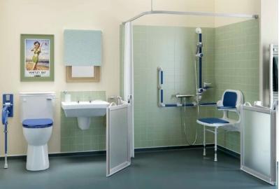 dementia friendly bathroom layout