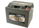 image of maintenance free gel battery from Energy Batteries