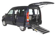 kangoo wheelchair accessible vehicle