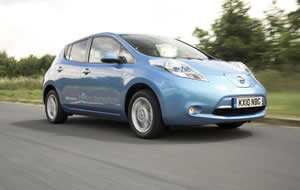 Nissan Leaf electric powered car