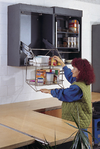 Wire Kitchen Shelves