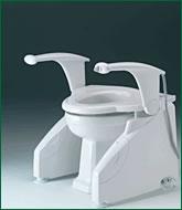 powered toilet raiser