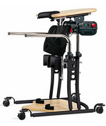 Image of powered standing aid