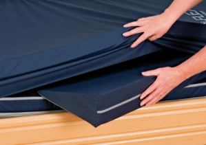 Tri-Flex pressure relief mattress