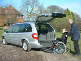 chrysler voyager rear access conversion