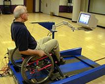 wheelchair treadmill pic