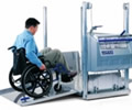 image of wheelchair platform lift