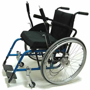 image of lever propelled wheelchair