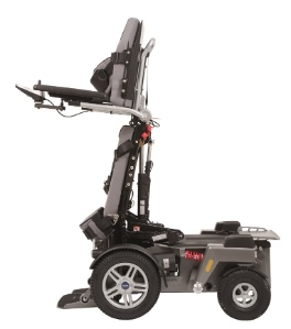 new fully extended stand-up wheelchair
