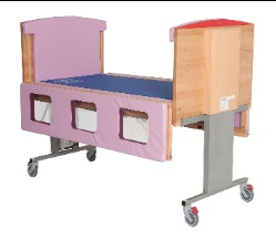 image of bakare's height adjustable cot