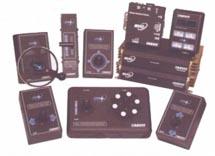 digital controls - levers, joysticks and miniature wheels