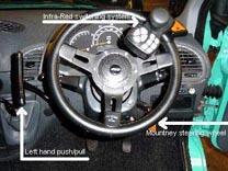 mountney powered steering wheel