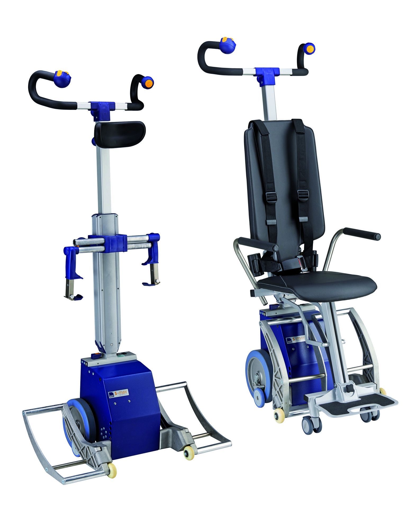 S Max Sella Vario stairclimber with and without seating system