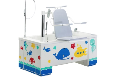 bathtime fun with Ascot paediatric bath