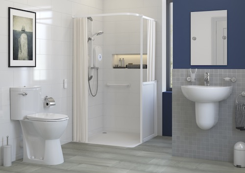 AKW Level access showering