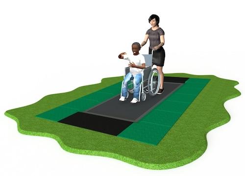 Ability trampoline
