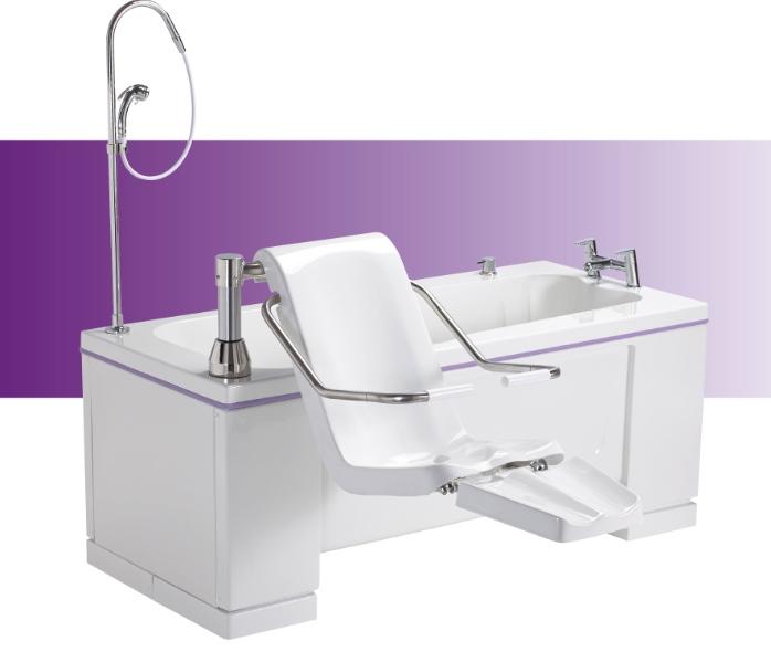 Alera bath from Gainsborough Specialist Bathing