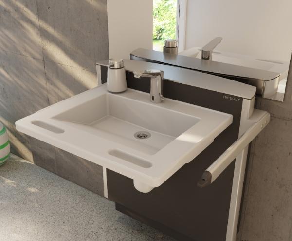 adjustable height basin brackets