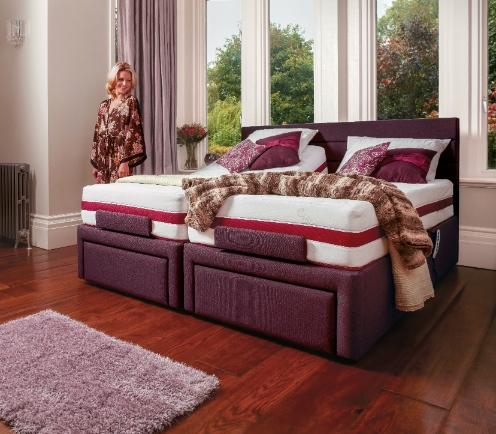 One of the Dorchester adjustable beds