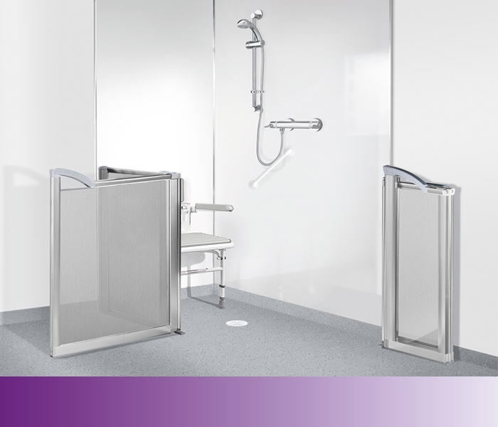 wetroom showering solution