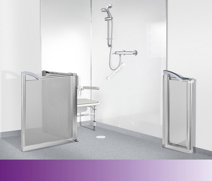 wetroom showering solution