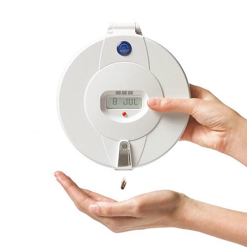 Pivotell dispenser avoids medication non-adherence
