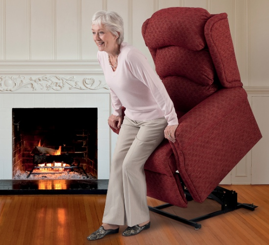 Theraposture rise and recliner