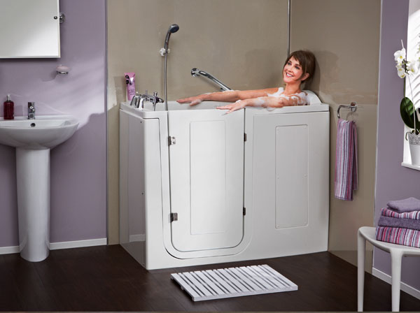 Tranquility walk in bath premier care in bathing for Premier care bathrooms