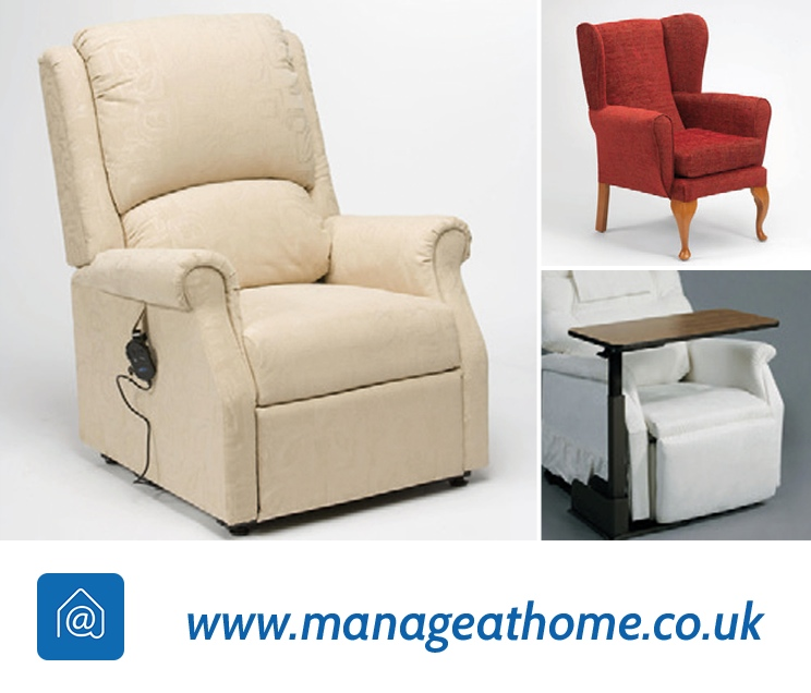 Riser recliner and other aids