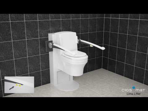 Lima lifter toilet