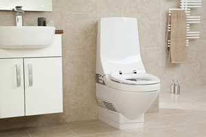 AquaClean 8000care shower toilet