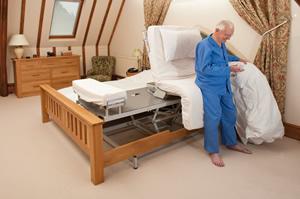 Rotoflex bed