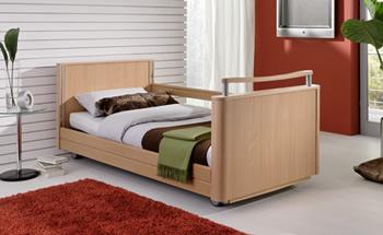 Elegant homecare bed