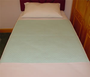 Bed With Fibrefresh Washable Incontinence Pad