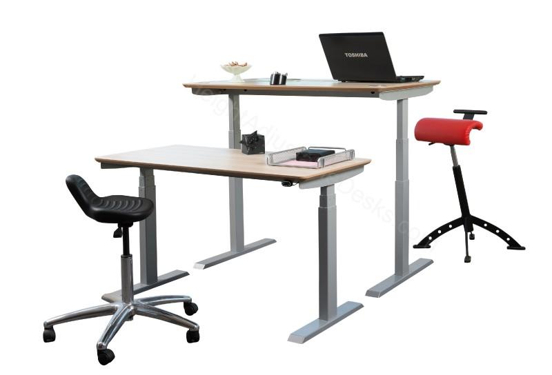 Transition standing desk