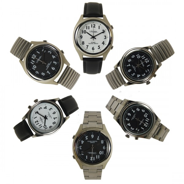 image of talking watches