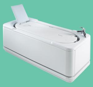 Aquanova platform bath